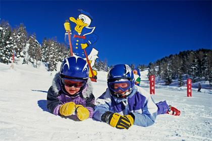 на горнолыжные курорты с детьми