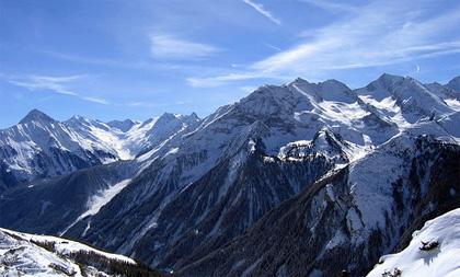 горные трассы Майрхофен, долина Циллерталь, Австрия
