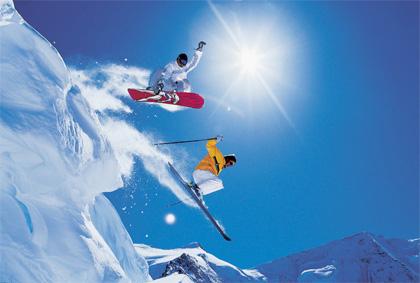 сноубординг или горные лыжи