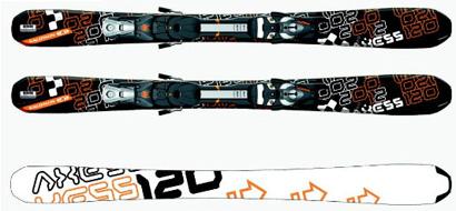 купить горные лыжи (с креплениями и без них)