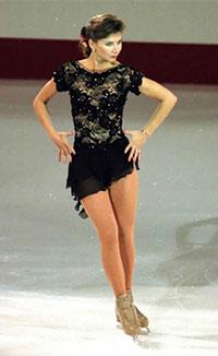 одиночное фигурное катание на коньках