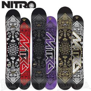 Сноуборды Nitro