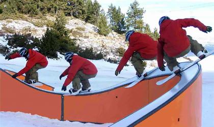 Сноупарк - сноуборд парки