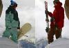 Сноуборд или горные лыжи ?